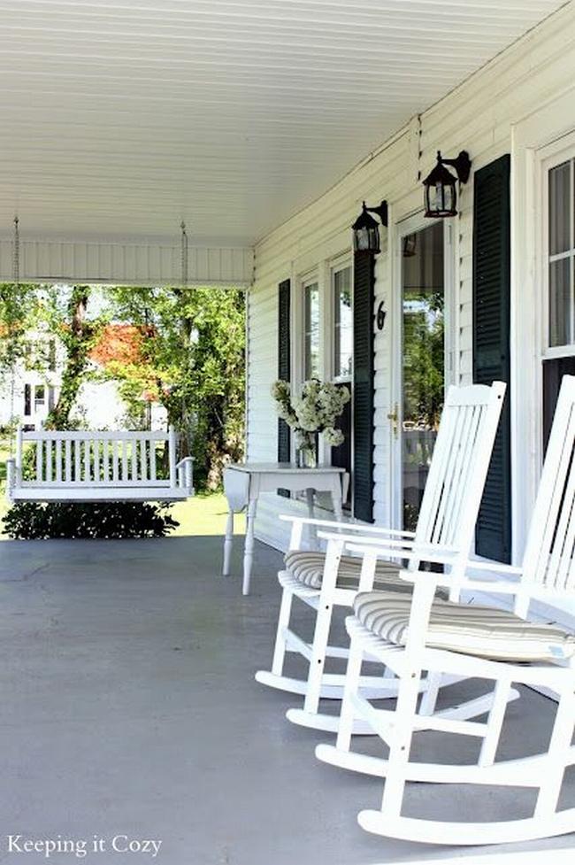 huśtawka na taras werandę inspiracje realizacje pomysły jak zrobić huśtawkę na tarasie design porch swings inspirations 11