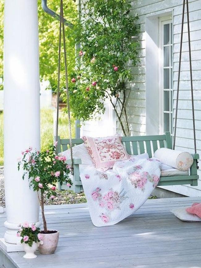 huśtawka na taras werandę inspiracje realizacje pomysły jak zrobić huśtawkę na tarasie design porch swings inspirations 19