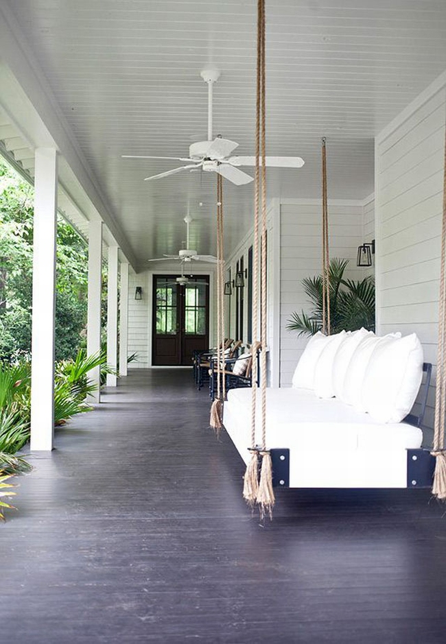 huśtawka na taras werandę inspiracje realizacje pomysły jak zrobić huśtawkę na tarasie design porch swings inspirations 30
