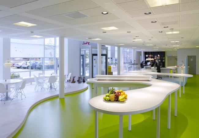 nowoczesna aranżacja biura nowoczesne przestrzenie biurowe design inspiracje projekt biura wnętrze biurowe LEGO 19