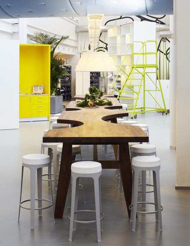 nowoczesna aranżacja biura nowoczesne przestrzenie biurowe design inspiracje projekt biura wnętrze biurowe LEGO 33