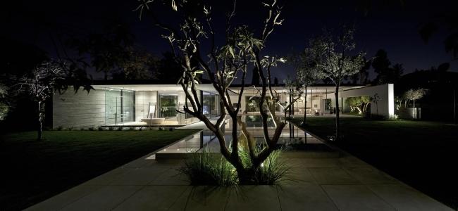 nowoczesny dom parterowy design inspiracje realizacje projekt nowoczesna architektura willa marzeń luksusowa rezydencja 105