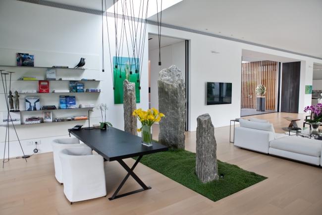 nowoczesny dom parterowy design inspiracje realizacje projekt nowoczesna architektura willa marzeń luksusowa rezydencja 108