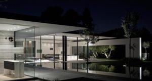 nowoczesny dom parterowy design inspiracje realizacje projekt nowoczesna architektura willa marzeń luksusowa rezydencja 111