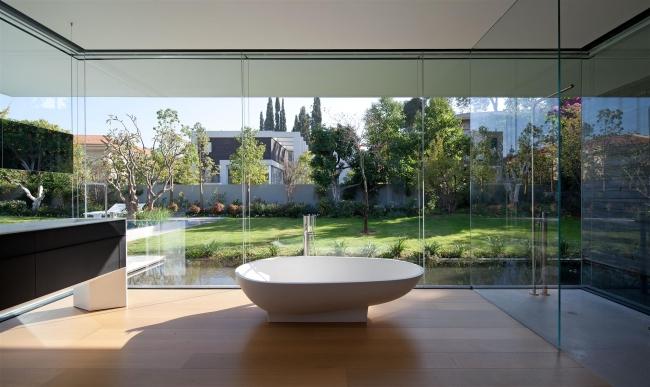 nowoczesny dom parterowy design inspiracje realizacje projekt nowoczesna architektura willa marzeń luksusowa rezydencja 115