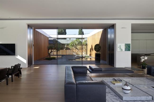 nowoczesny dom parterowy design inspiracje realizacje projekt nowoczesna architektura willa marzeń luksusowa rezydencja 127