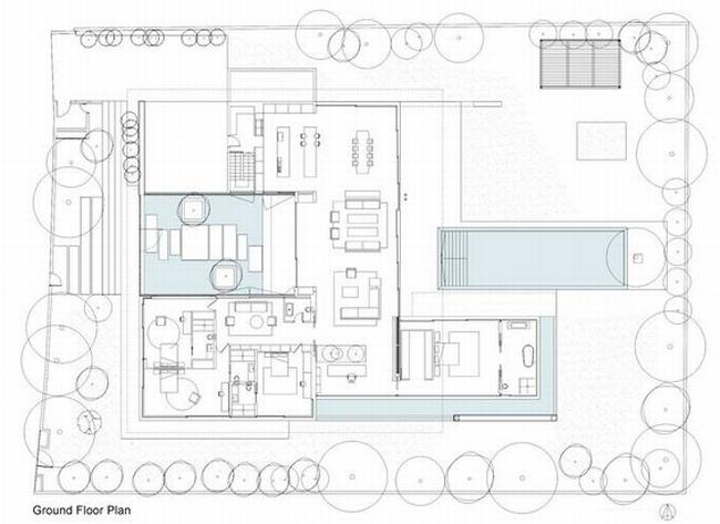 nowoczesny dom parterowy design inspiracje realizacje projekt nowoczesna architektura willa marzeń luksusowa rezydencja 130