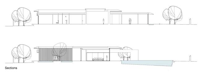 nowoczesny dom parterowy design inspiracje realizacje projekt nowoczesna architektura willa marzeń luksusowa rezydencja 131
