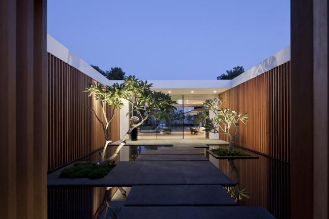 nowoczesny dom parterowy design inspiracje realizacje projekt nowoczesna architektura willa marzeń luksusowa rezydencja 33