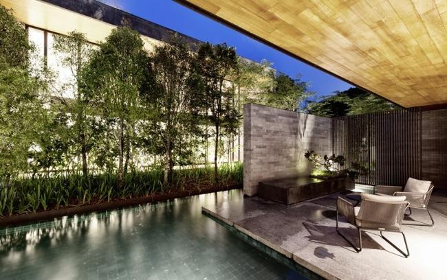nowoczesny dom w zieleni inspiracje design architektura projekt pomysły wille marzeń luksusowa rezydencja 03