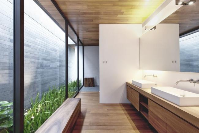 nowoczesny dom w zieleni inspiracje design architektura projekt pomysły wille marzeń luksusowa rezydencja 13