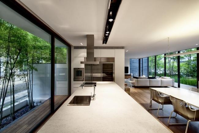nowoczesny dom w zieleni inspiracje design architektura projekt pomysły wille marzeń luksusowa rezydencja 21