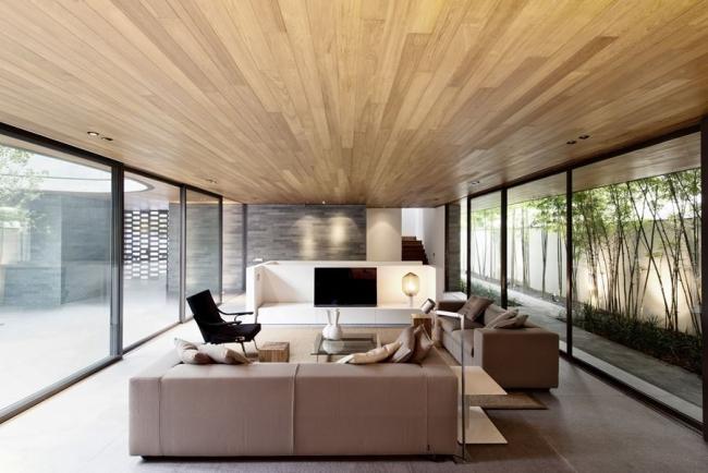 nowoczesny dom w zieleni inspiracje design architektura projekt pomysły wille marzeń luksusowa rezydencja 24