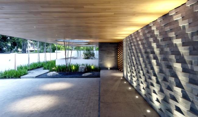 nowoczesny dom w zieleni inspiracje design architektura projekt pomysły wille marzeń luksusowa rezydencja 27