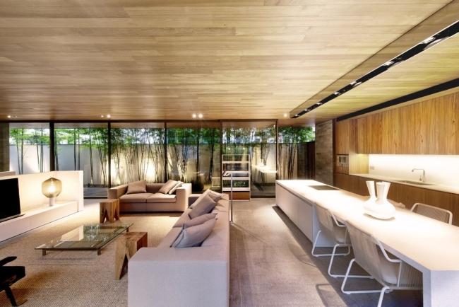nowoczesny dom w zieleni inspiracje design architektura projekt pomysły wille marzeń luksusowa rezydencja 30