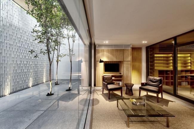 nowoczesny dom w zieleni inspiracje design architektura projekt pomysły wille marzeń luksusowa rezydencja 42