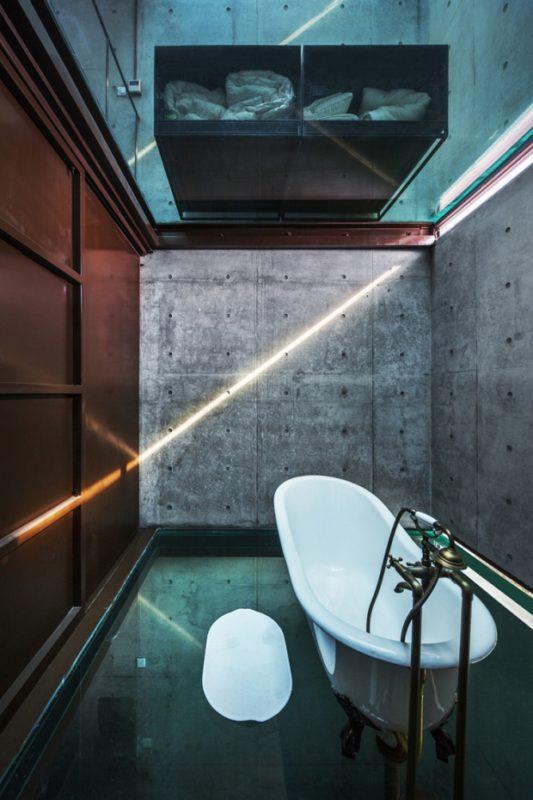 szklany dom ze szkła design szklane wnętrze projekt pomysł desing idea inspiracje inspiration expo szanghaj 07