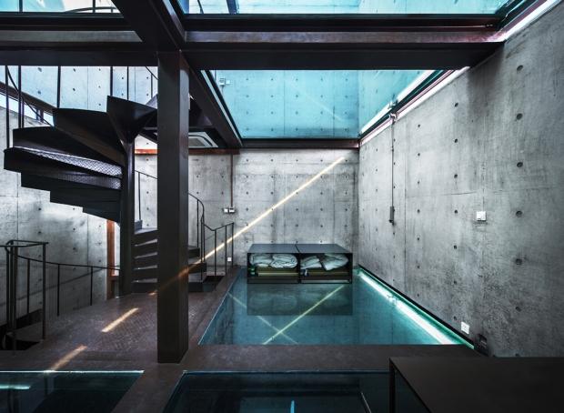 szklany dom ze szkła design szklane wnętrze projekt pomysł desing idea inspiracje inspiration expo szanghaj 09