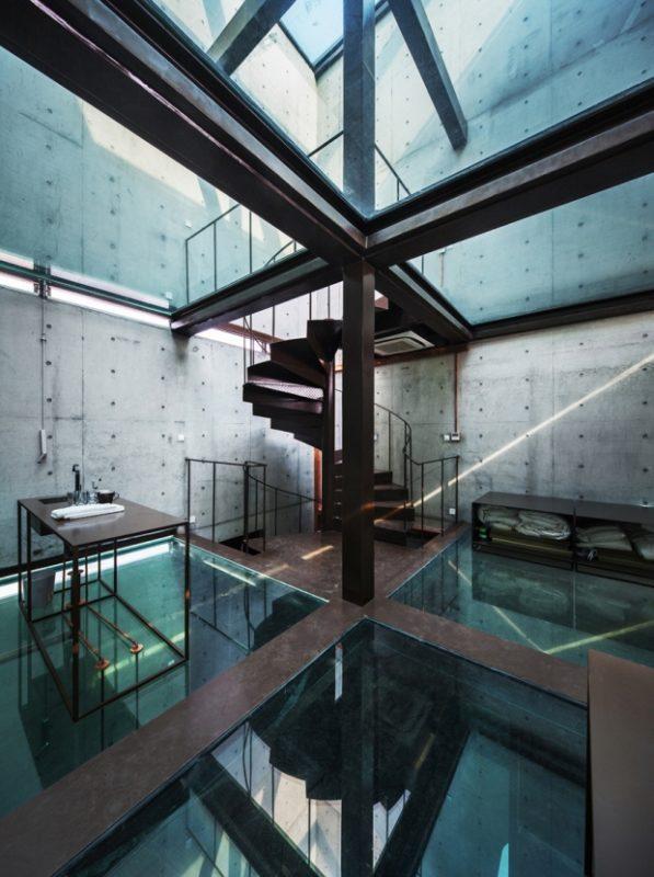 szklany dom ze szkła design szklane wnętrze projekt pomysł desing idea inspiracje inspiration expo szanghaj 10