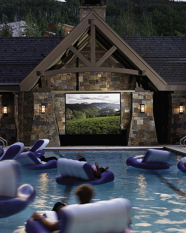 zewnętrzne domowe kino letnie w ogrodzie kino z tyłu domu kino koło domu inspiracje pomysły oudoor cinema outdoor movie theatre 21