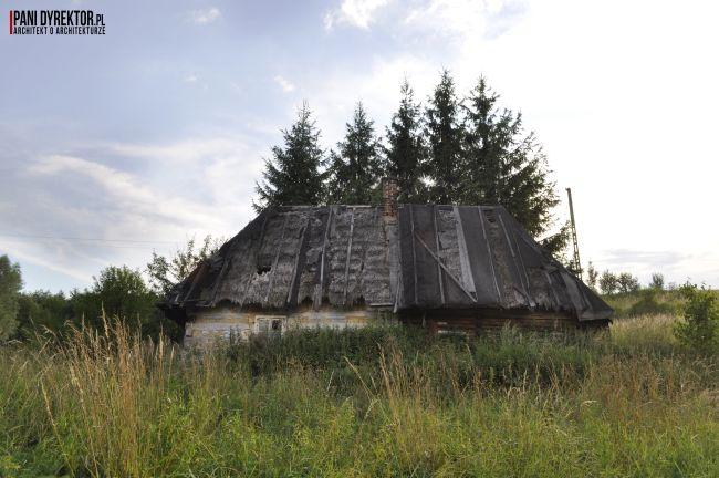 Chyża Chata łemkowska chyża podkarpackie zabytkowa architektura-drewniana romantyczny dom dawno temu w domu blog o architekturze pani dyrektor 3