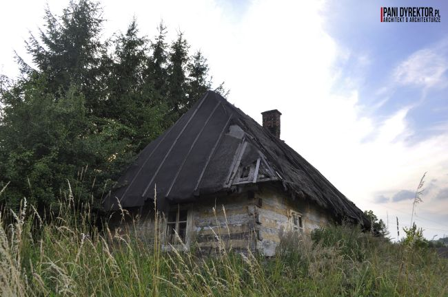Chyża Chata łemkowska chyża podkarpackie zabytkowa architektura drewniana romantyczny dom dawno temu w domu blog o architekturze pani dyrektor 5