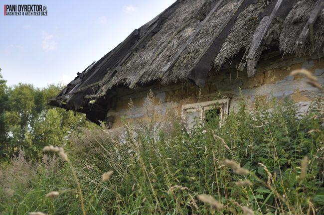 Chyża Chata łemkowska chyża podkarpackie zabytkowa architektura drewniana romantyczny dom dawno temu w domu blog o architekturze pani dyrektor 6