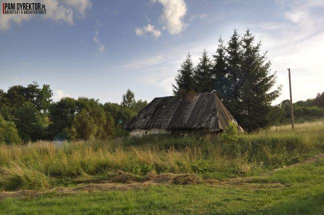 Chyża Chata łemkowska chyża podkarpackie zabytkowa architektura drewniana romantyczny dom dawno temu w domu blog o architekturze pani dyrektor 7