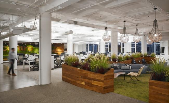 jak urządzić nowoczesne wnętrze biura nowoczesne biuro desing inspiracje projekt nowoczesne wnętrze biurowe biura korporacji 13