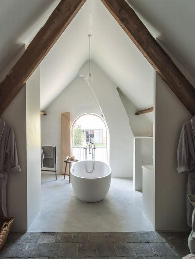 jak urządzić poddasze w domu pomysły na poddasze inspiracje adaptacja poddasza w domu poddasze użytkowe sypialnia na poddaszu łazienka na poddaszu garderoba na poddaszu 24