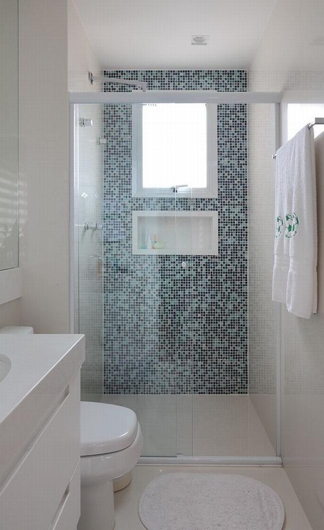 mała łazienka zobacz jak urządzić małą łazienkę inspiracje przykłady mała niewygodna łazienka jak urządzić niewielką łazienkę 06