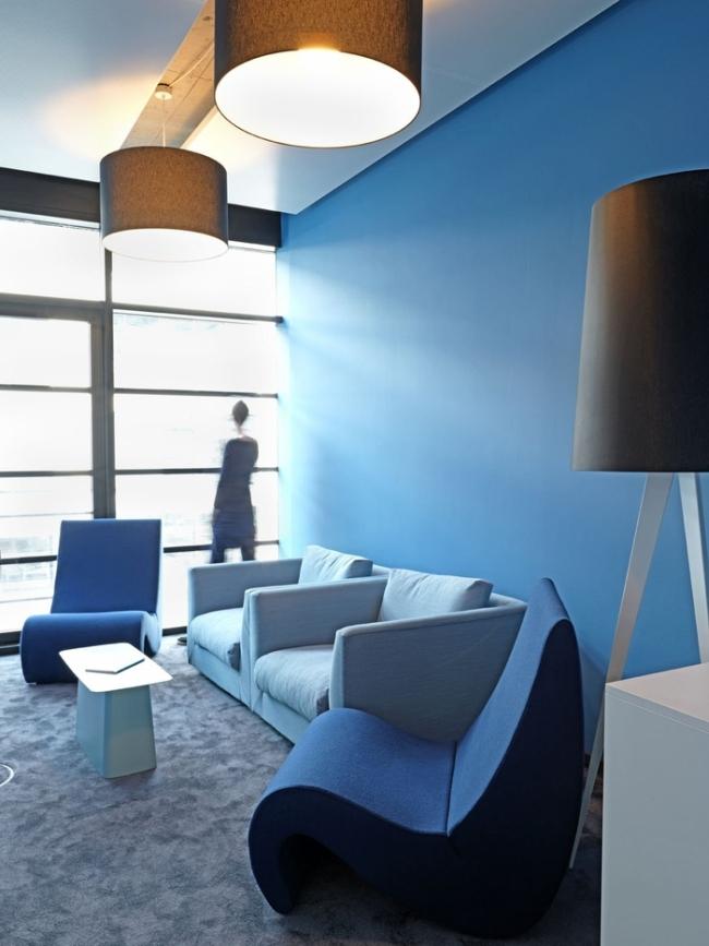 modne wnętrze biurowe design inspiracje nowoczesne projektowanie wnętrz nowoczesne biuro biura wielkich korporacji 06