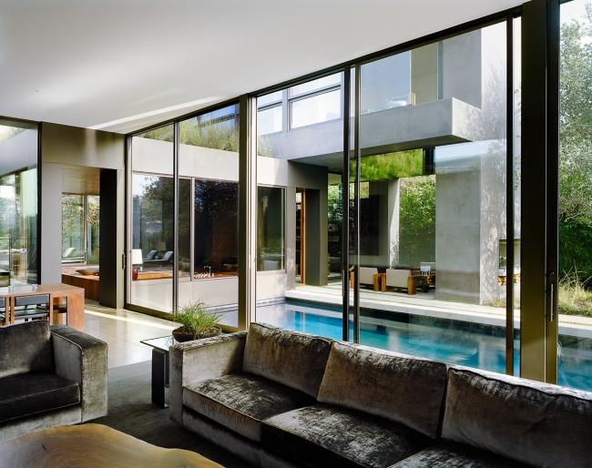 przytulny nowoczesny dom design nowoczesny dom surowy zimny obcy przytulny projekt inspiracje architektura willa marzeń luksusowa rezydencja 0611