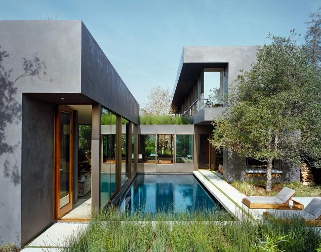 przytulny nowoczesny dom design nowoczesny dom surowy zimny obcy przytulny projekt inspiracje architektura willa marzeń luksusowa rezydencja 14