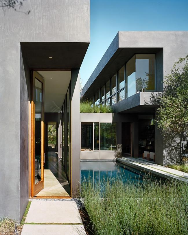 przytulny nowoczesny dom design nowoczesny dom surowy zimny obcy przytulny projekt inspiracje architektura willa marzeń luksusowa rezydencja 00