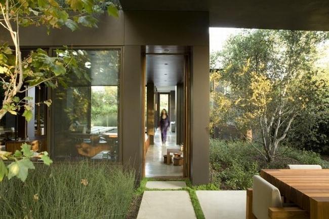 przytulny nowoczesny dom design nowoczesny dom surowy zimny obcy przytulny projekt inspiracje architektura willa marzeń luksusowa rezydencja 36