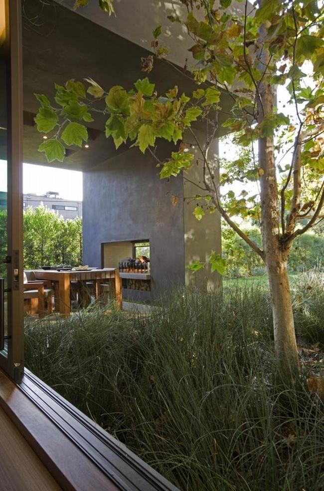 przytulny nowoczesny dom design nowoczesny dom surowy zimny obcy przytulny projekt inspiracje architektura willa marzeń luksusowa rezydencja 38