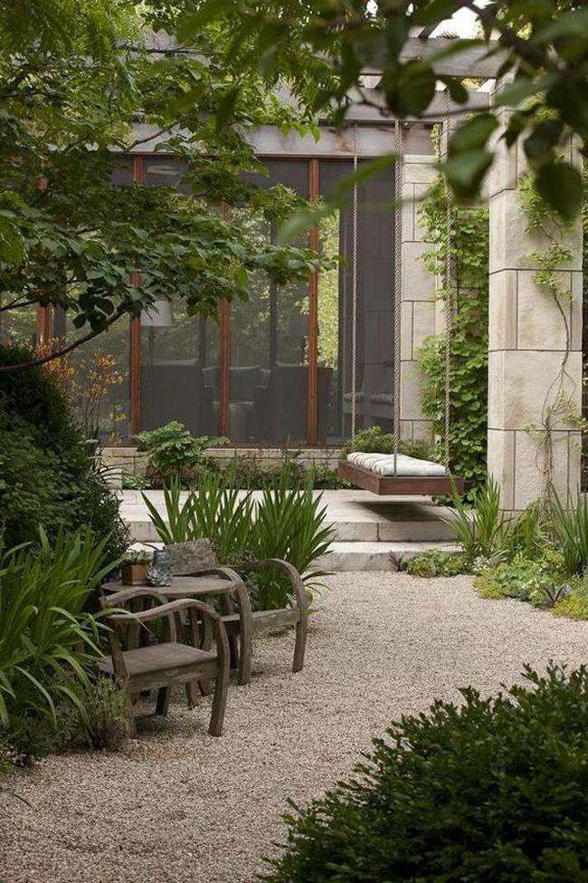 huśtawka w ogrodzie huśtawka ogrodowa inspiracje design pomysły aranżacja ogrodu jaką huśtakwę wybrać do ogrodu 01