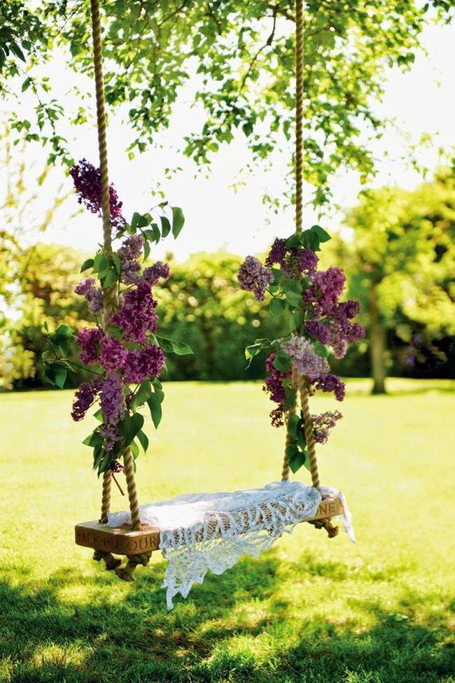 huśtawka w ogrodzie huśtawka ogrodowa inspiracje design pomysły aranżacja ogrodu jaką huśtakwę wybrać do ogrodu 09