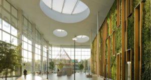 inspirujące wnętrze biura nowoczesne biuro design nowoczesnego biura inspiracje projekt biura wielkich korporacji 12