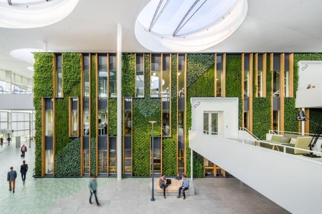 inspirujące wnętrze biura nowoczesne biuro design nowoczesnego biura inspiracje projekt biura wielkich korporacji 35