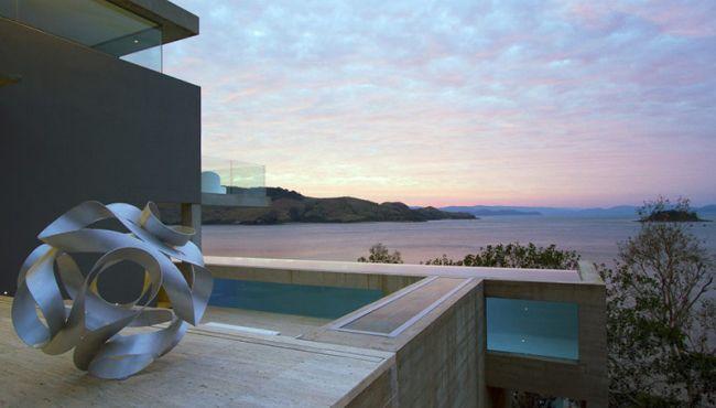 projekt luksusowego domu dom nowoczesny luksusowy dom rezydencja projekt inspiracje design nowoczesnego domu 007
