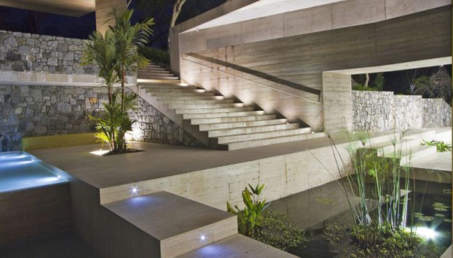 projekt luksusowego domu dom nowoczesny luksusowy dom rezydencja projekt inspiracje design nowoczesnego domu 008