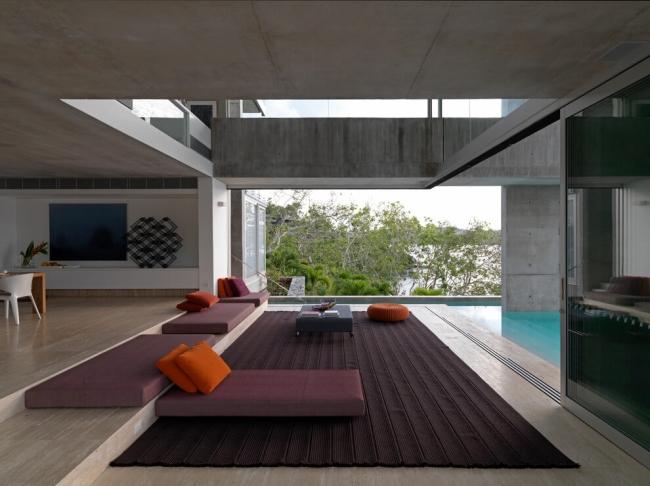 projekt luksusowego domu dom nowoczesny luksusowy dom rezydencja projekt inspiracje design nowoczesnego domu 06