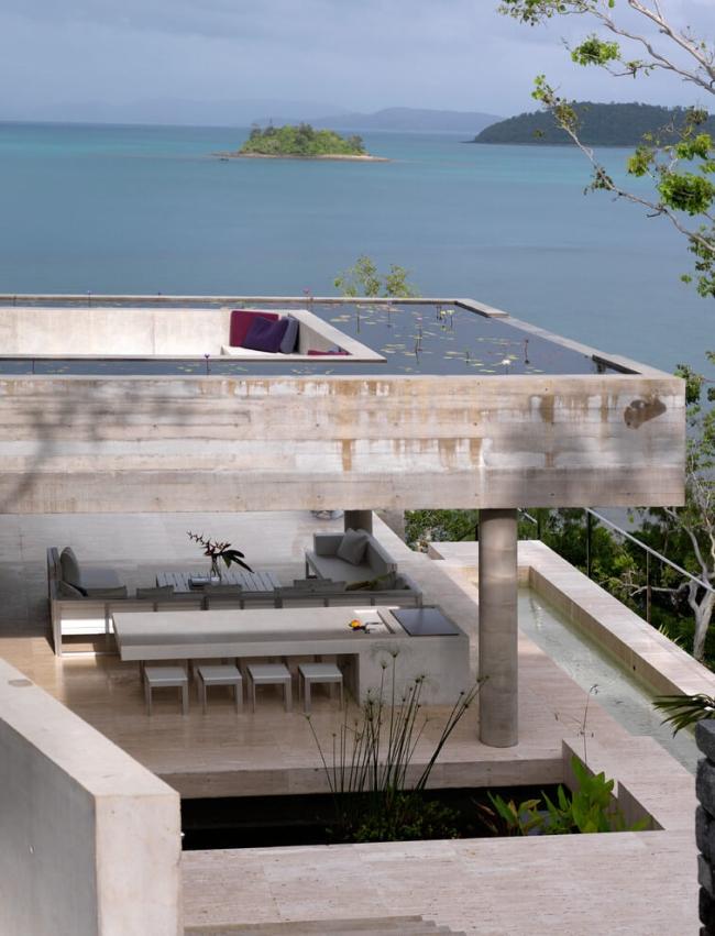 projekt luksusowego domu dom nowoczesny luksusowy dom rezydencja projekt inspiracje design nowoczesnego domu 09