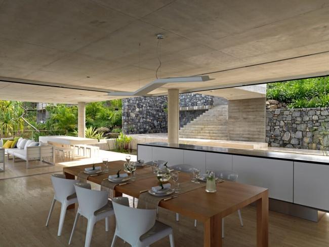 projekt luksusowego domu dom nowoczesny luksusowy dom rezydencja projekt inspiracje design nowoczesnego domu 14