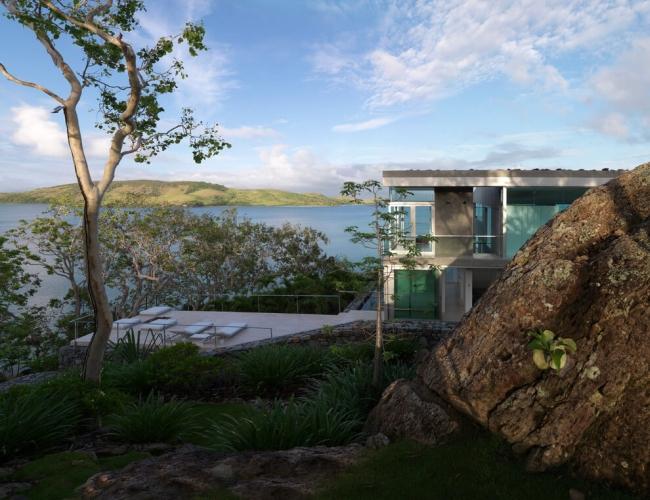 projekt luksusowego domu dom nowoczesny luksusowy dom rezydencja projekt inspiracje design nowoczesnego domu 21