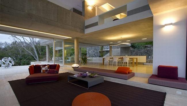projekt luksusowego domu dom nowoczesny luksusowy dom rezydencja projekt inspiracje design nowoczesnego domu 31