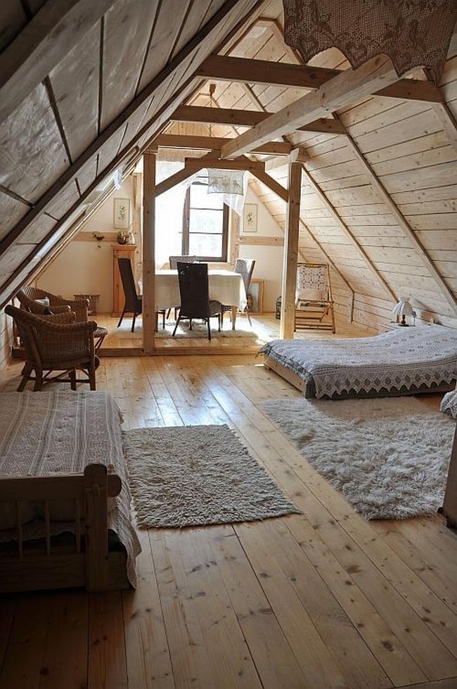 sypialnia na poddaszu inspiracje zobacz jak urz dzi sypialni na poddaszu. Black Bedroom Furniture Sets. Home Design Ideas