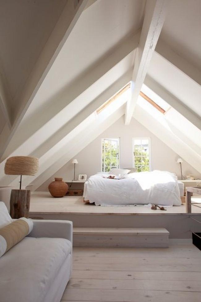 Jak urzadzic poddasze w domu pomysly na poddasze - Dachstuhl ausbauen ...